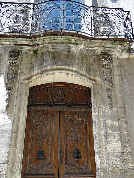 Photo du Monument Historique Hôtel de Tourville situé à Viviers