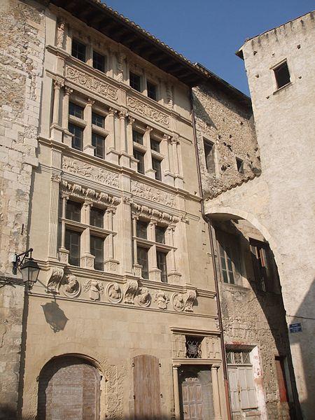 Photo du Monument Historique Maison des Chevaliers situé à Viviers