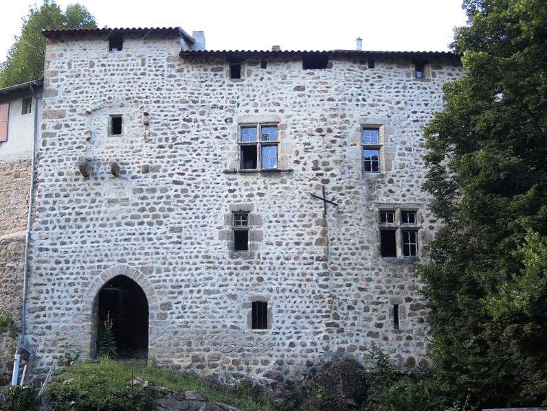 Photo du Monument Historique Château situé à Vocance