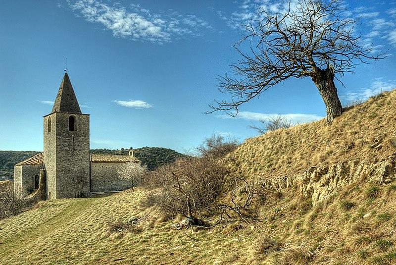 Photo du Monument Historique Eglise Notre-Dame-de-l'Assomption situé à Gras