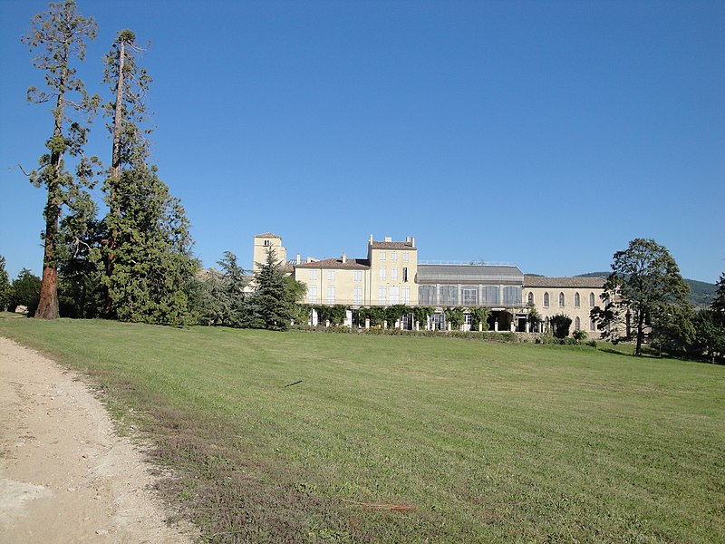 Photo du Monument Historique Domaine de Marc Seguin situé à Annonay