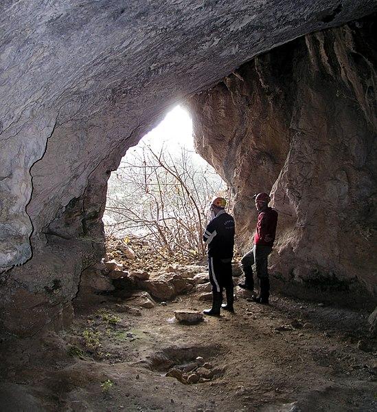 Photo du Monument Historique Grotte dite de la Vacheresse situé à Vallon-Pont-d'Arc