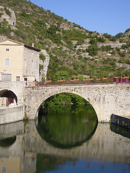 Photo du Monument Historique Pont romain situé à Le Pouzin