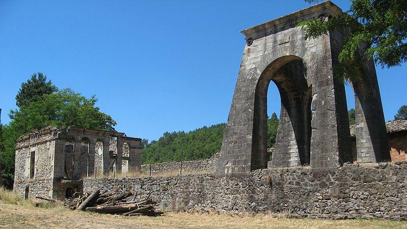 Photo du Monument Historique Mine de Champgontier situé à Prades