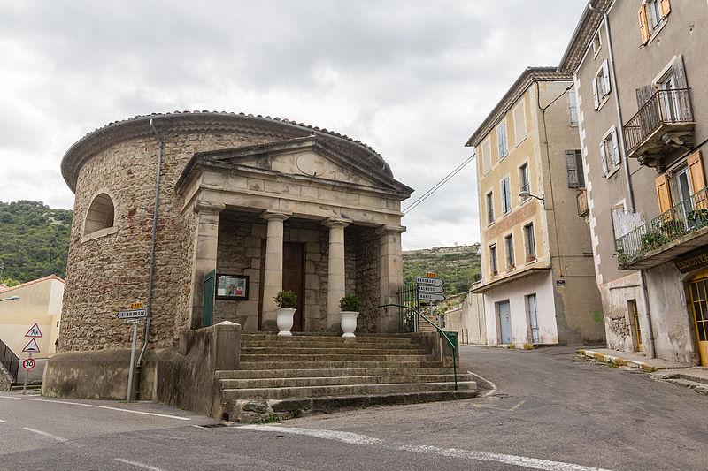 Photo du Monument Historique Temple protestant situé au Rousselet situé à Les Vans