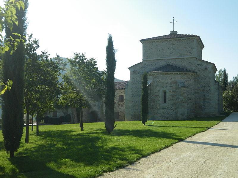 Photo du Monument Historique Église Saint-Pierre de Lubilhac situé à Coux