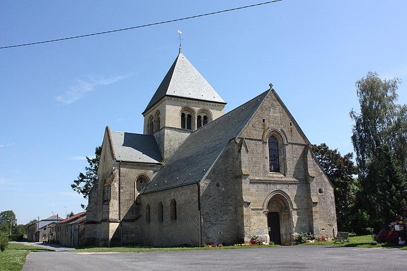 Photo du Monument Historique Eglise Sainte-Catherine situé à Alland'Huy-et-Sausseuil