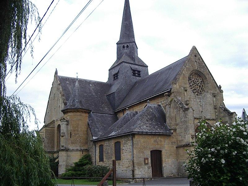 Photo du Monument Historique Eglise situé à Amagne