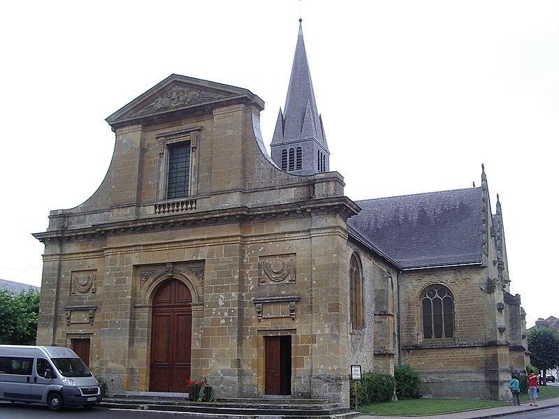 Photo du Monument Historique Eglise situé à Attigny