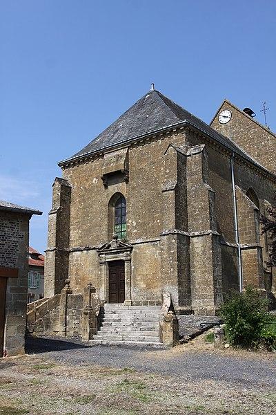 Photo du Monument Historique Eglise situé à Authe