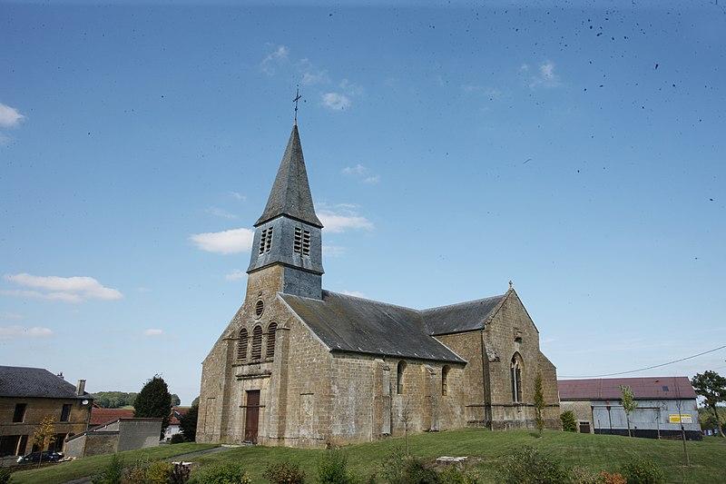 Photo du Monument Historique Eglise de Châtillon-sur-Bar situé à Belleville-et-Châtillon-sur-Bar