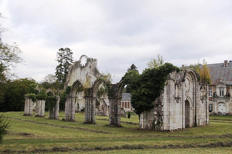 Photo du Monument Historique Eglise abbatiale de Blanchefosse (restes) situé à Blanchefosse-et-Bay