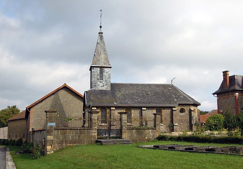 Photo du Monument Historique Eglise de Brières situé à Brécy-Brières