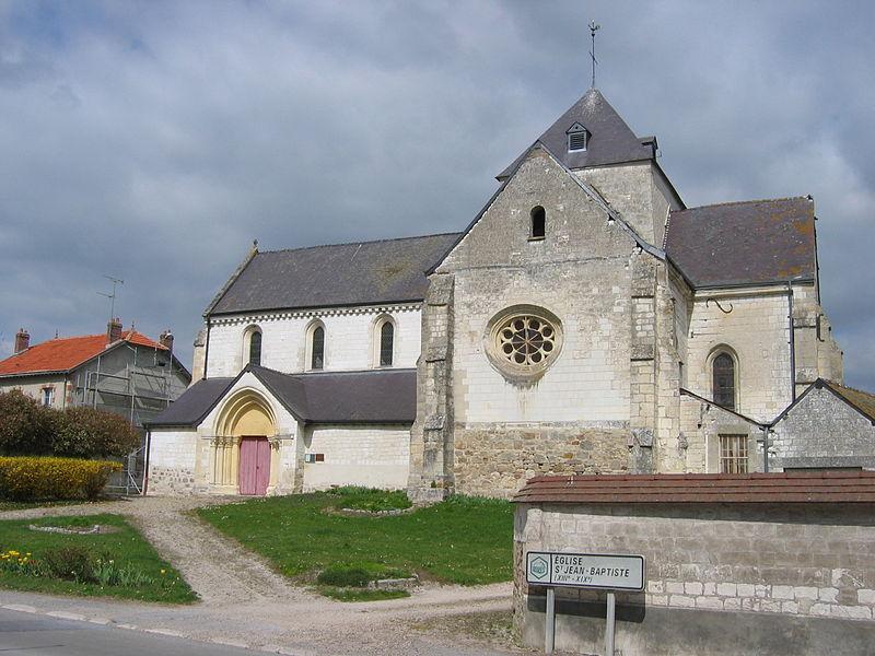 Photo du Monument Historique Eglise situé à Brienne-sur-Aisne