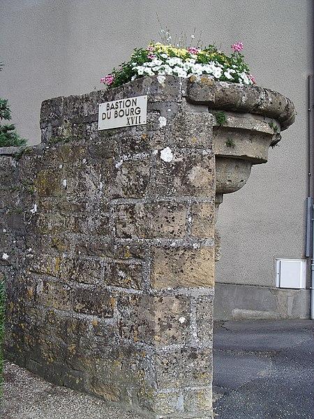 Photo du Monument Historique Anciennes fortifications situé à Carignan