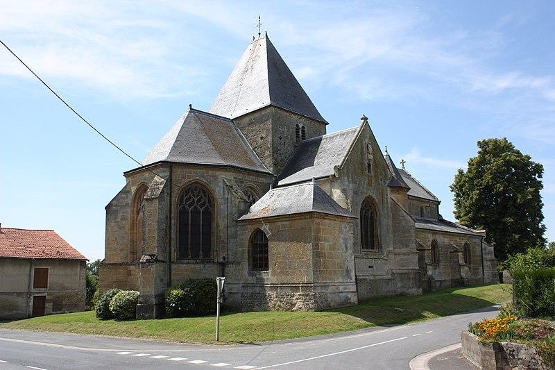 Photo du Monument Historique Eglise situé à Charbogne