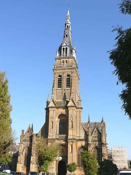 Photo du Monument Historique Basilique Notre-Dame de l'Espérance situé à Charleville-Mézières