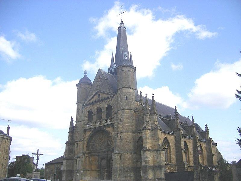 Photo du Monument Historique Eglise Saint-Lie de Mohon situé à Charleville-Mézières
