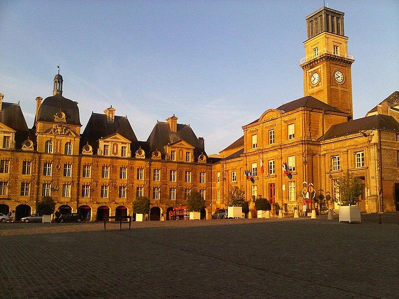 Photo du Monument Historique Hôtel de ville situé à Charleville-Mézières