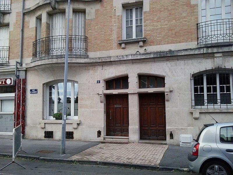 Photo du Monument Historique Maison Fortan situé à Charleville-Mézières