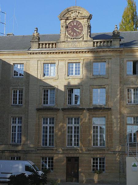 Photo du Monument Historique Préfecture situé à Charleville-Mézières