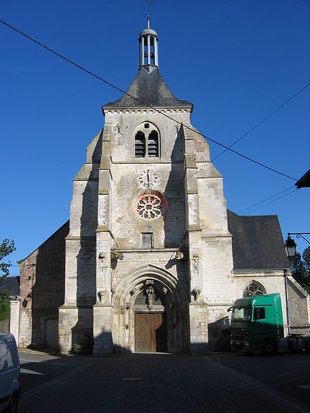 Photo du Monument Historique Eglise Saint-Thibault situé à Château-Porcien
