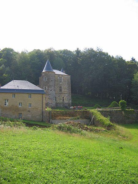 Photo du Monument Historique Château de Rocan situé à Chéhéry