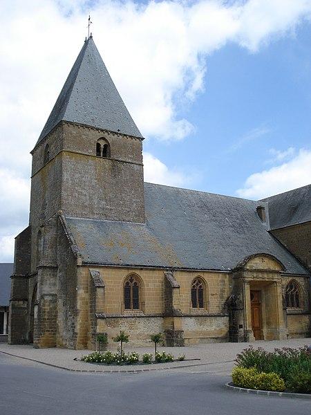 Photo du Monument Historique Eglise Saint-Jacques situé à Chesne (Le)