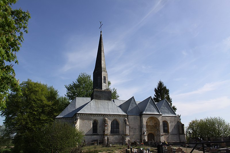 Photo du Monument Historique Eglise situé à Doux