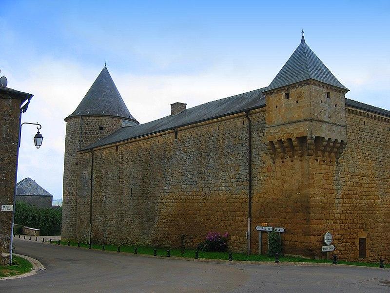 Photo du Monument Historique Château situé à L'Echelle