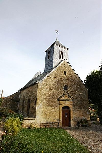 Photo du Monument Historique Eglise Saint-Denis situé à Evigny