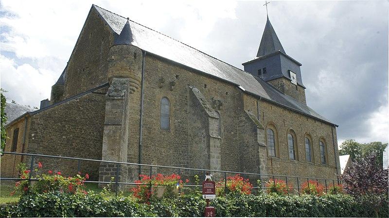 Photo du Monument Historique Eglise situé à Floing
