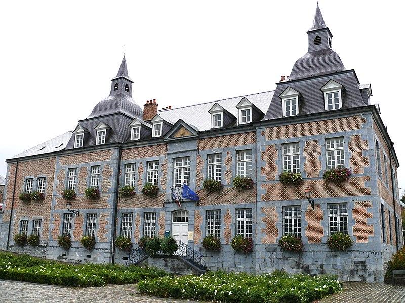 Photo du Monument Historique Château des Comtes-de-Bryas (Ancien) situé à Fumay