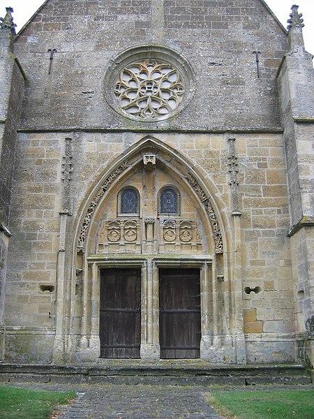 Photo du Monument Historique Eglise situé à Grivy-Loisy