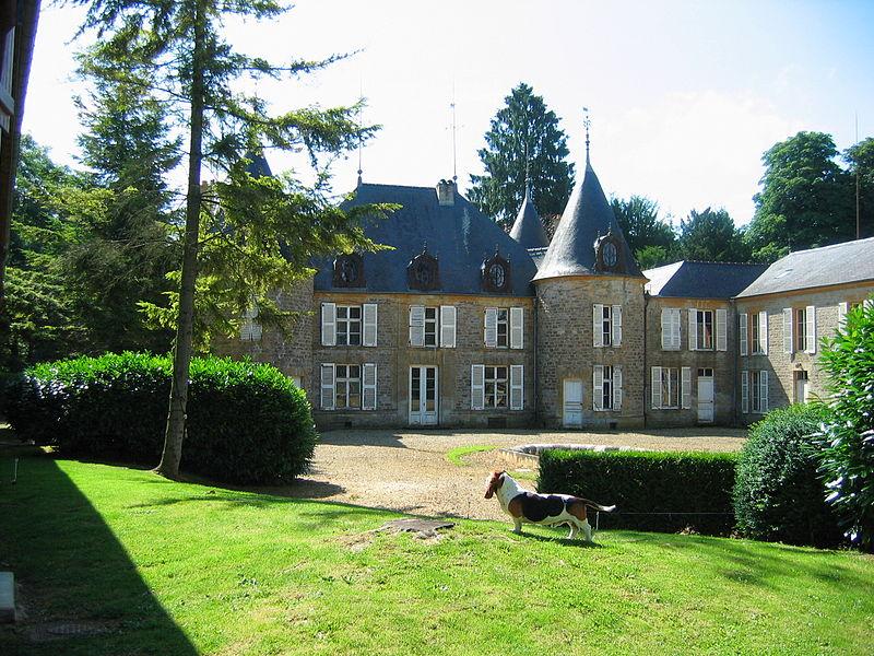Photo du Monument Historique Château d'Harzillemont situé à Hagnicourt