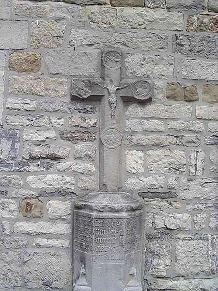 Photo du Monument Historique Croix situé à Hierges