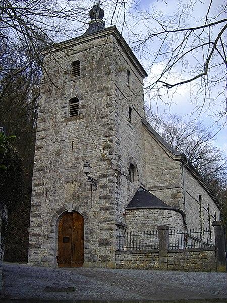 Photo du Monument Historique Eglise Saint-Jean-Baptiste situé à Hierges