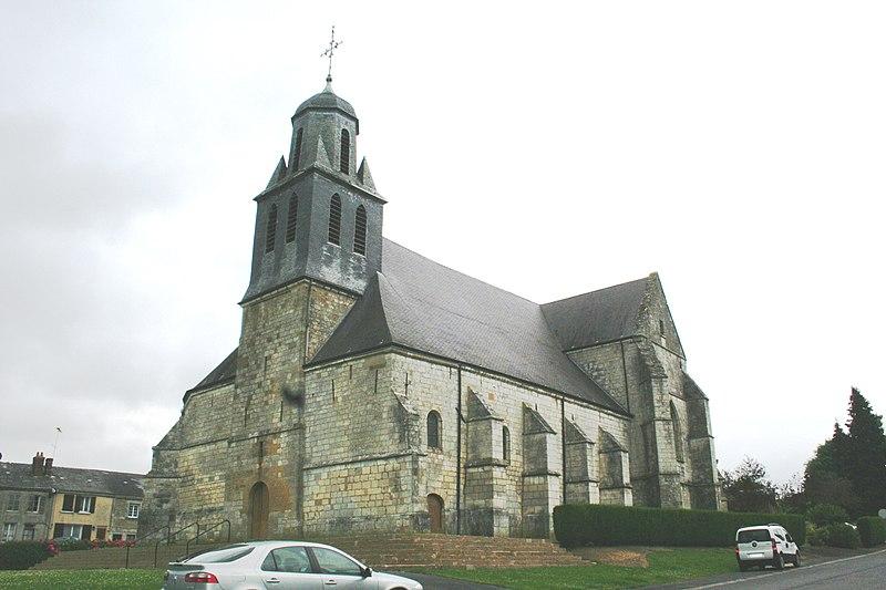 Photo du Monument Historique Eglise situé à Launois-sur-Vence