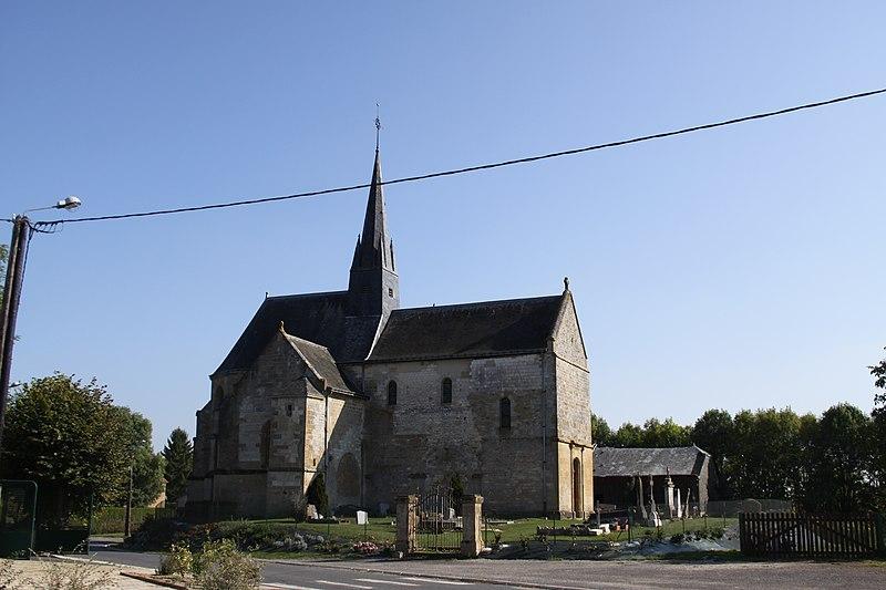 Photo du Monument Historique Eglise situé à Mars-sous-Bourcq