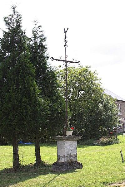 Photo du Monument Historique Croix de chemin dite de la Carmoterie situé à Mazerny