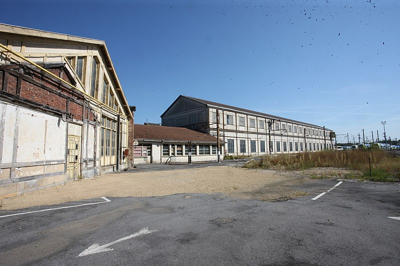 Photo du Monument Historique Dépôt SNCF de Mohon situé à Charleville-Mézières