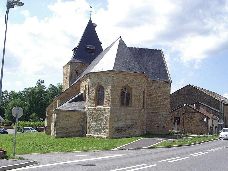 Photo du Monument Historique Eglise de Cliron situé à Montcornet