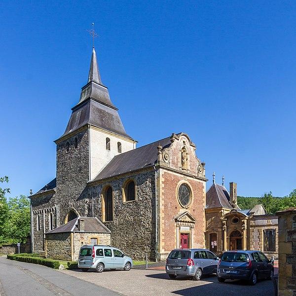 Photo du Monument Historique Eglise Saint-Rémi de Laval-Dieu situé à Monthermé