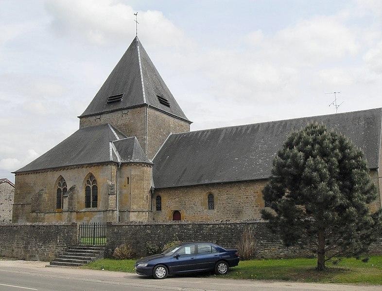 Photo du Monument Historique Eglise Sainte-Geneviève situé à Mouzon
