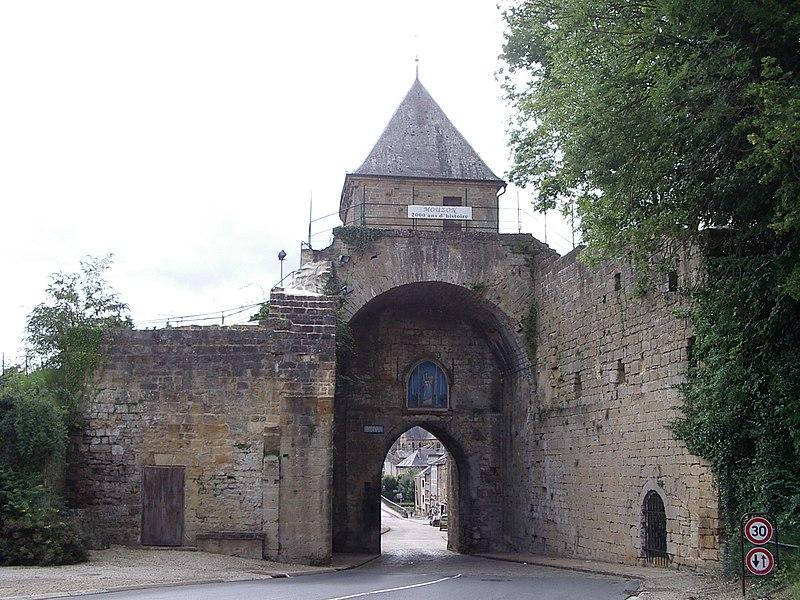 Photo du Monument Historique Anciennes fortifications de Mouzon situé à Mouzon