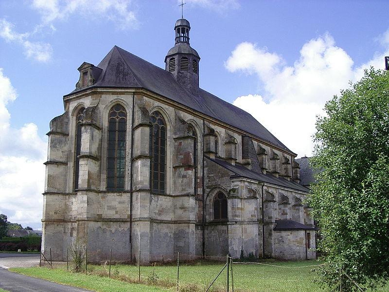 Photo du Monument Historique Eglise Sainte-Catherine, dite aussi Eglise Saint-Pierre du Prieuré situé à Novy-Chevrières