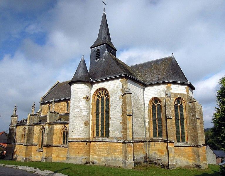 Photo du Monument Historique Eglise d'Olizy situé à Olizy-Primat
