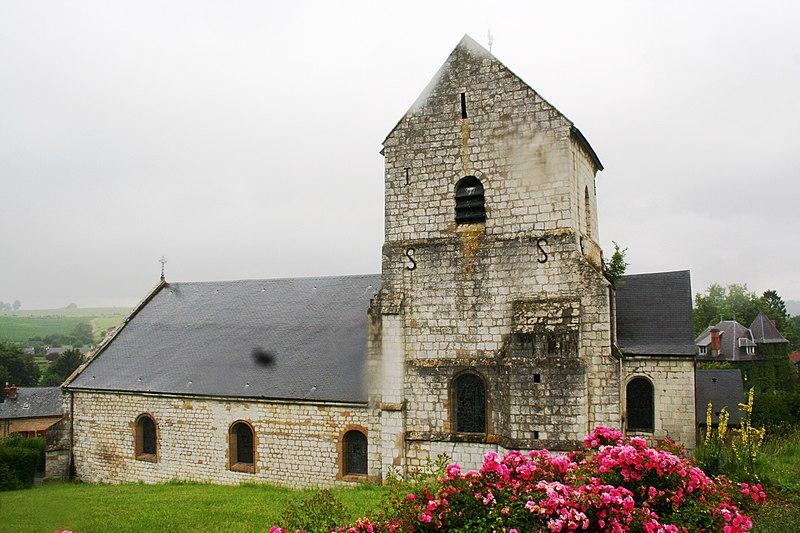 Photo du Monument Historique Eglise situé à Poix-Terron