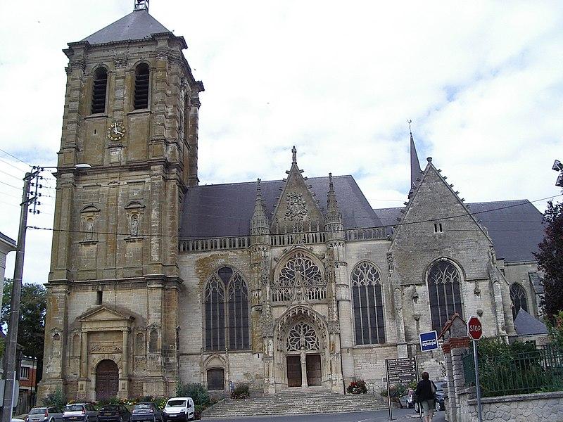 Photo du Monument Historique Eglise Saint-Nicolas situé à Rethel