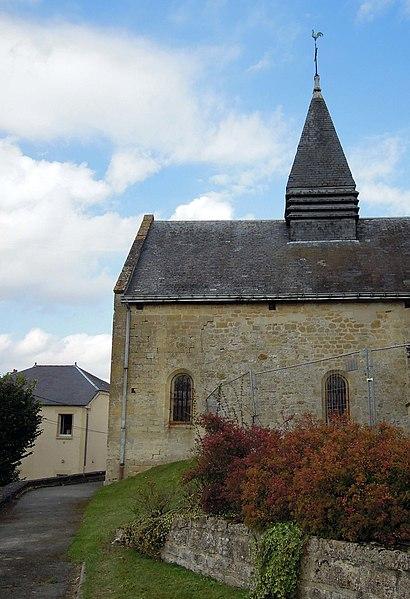 Photo du Monument Historique Eglise Saint-Waast situé à Rilly-sur-Aisne